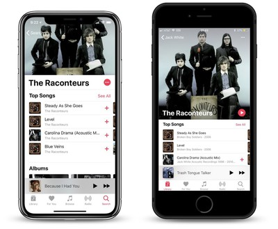 apple music ios 12 beta 1