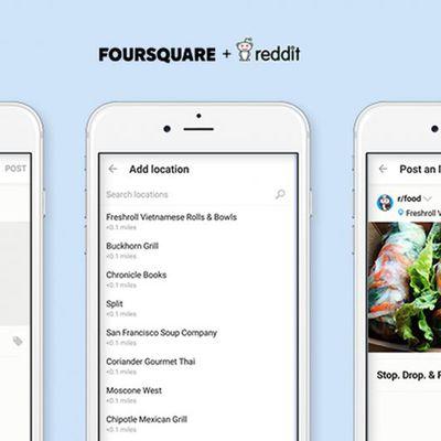 Foursquare   Reddit