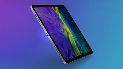 iPad Pro USB C Feature Purple Cyan 1
