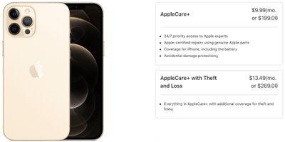 iphone12applecare