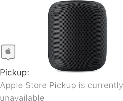homepod unavailable