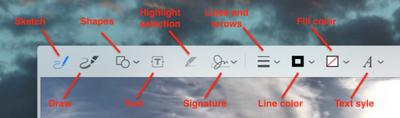 macos markup tools