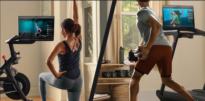 peloton bike plus treadmill gymkit
