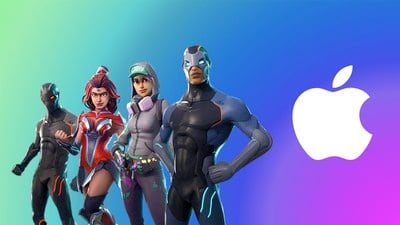 fortnite apple logo 2
