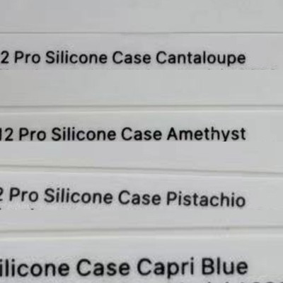 iphone 12 case spring colors names