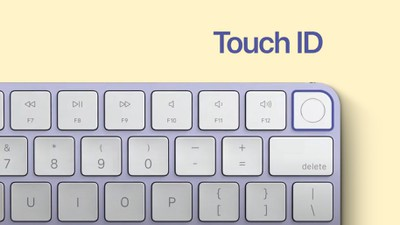Touch ID Keyboard Feature