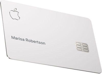 Physical Titanium Apple Card