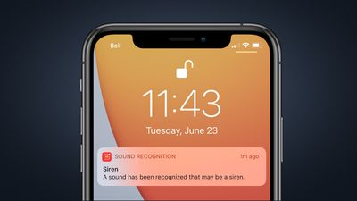 ios 14 sound recognition notification