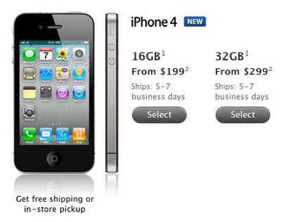 110038 iphone 4 ship 5 7 days
