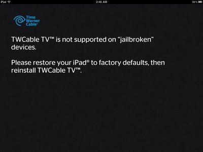 twcable tv jailbroken
