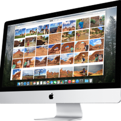 Photos for OS X iMac