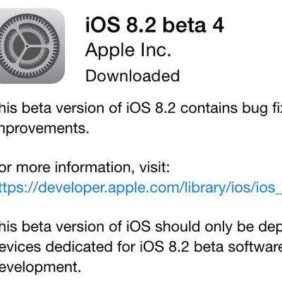 ios 8 2 beta 4