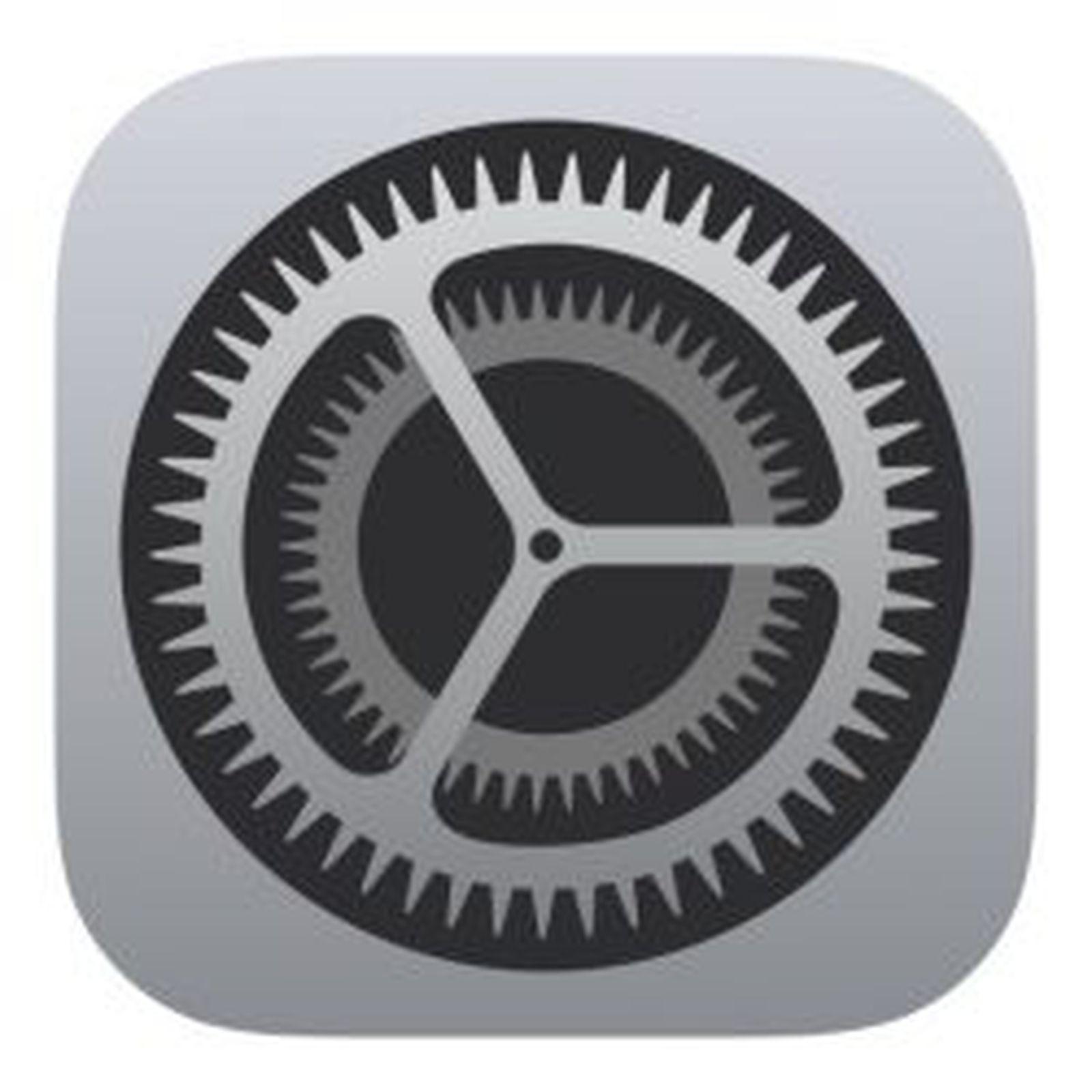 Bildresultat för ios settings icon