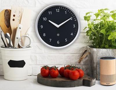 echo clock