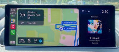 2022 mdx carplay maps