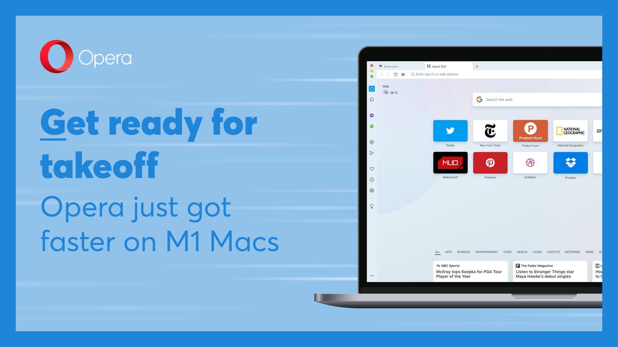 Opera Browser Gains Native M1 Mac Support - MacRumors