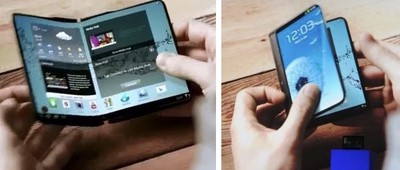 samsung bendable phone