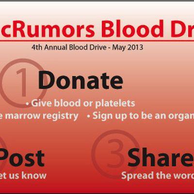 mr blood drive 2013