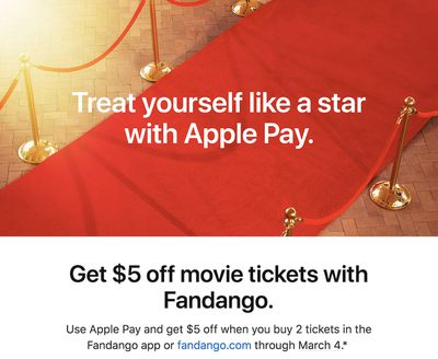 apple pay fandango 31
