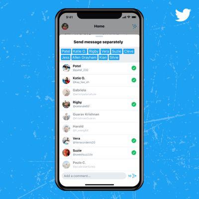 twitter sharing dms multiple convos