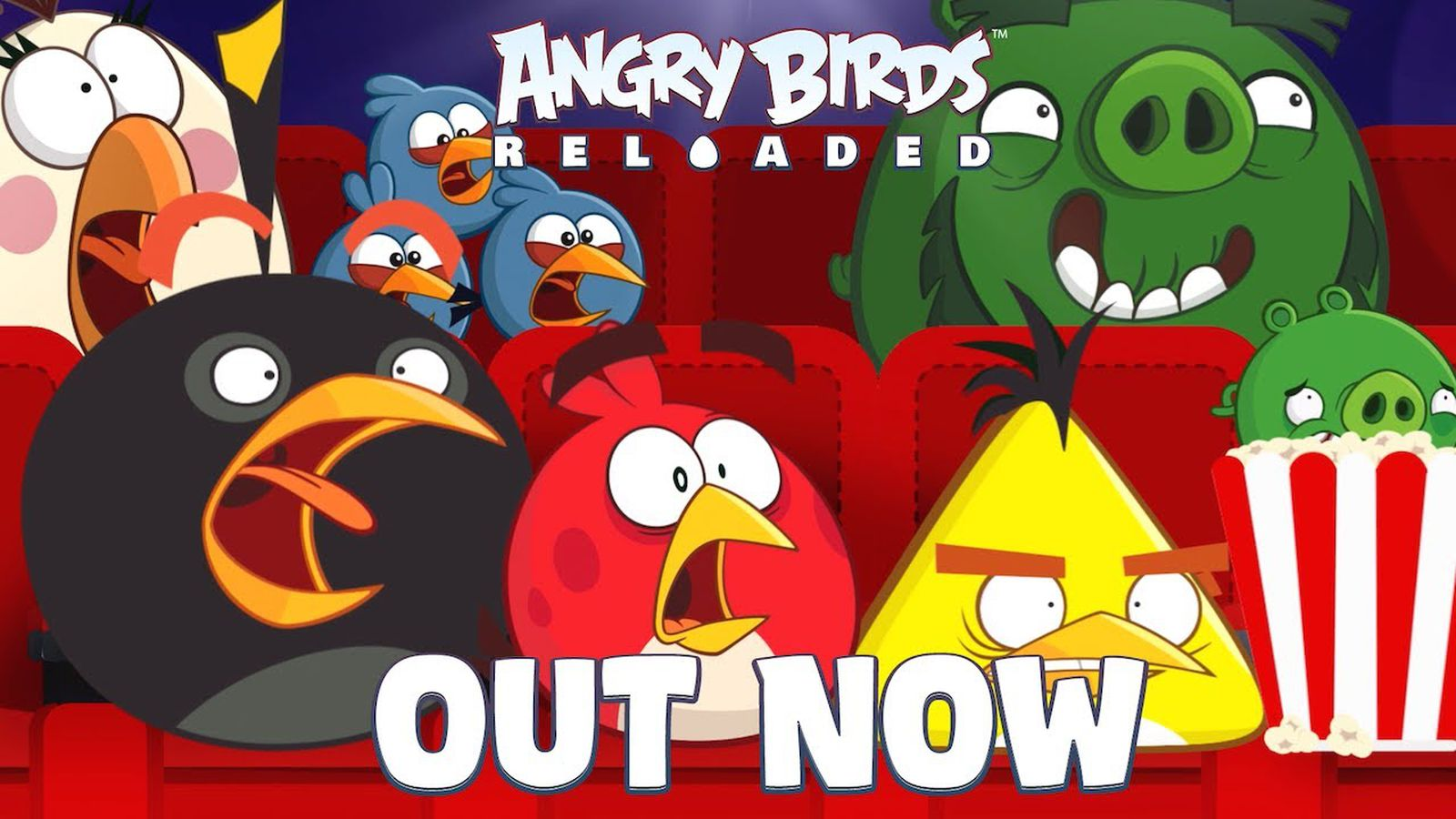 Apple Arcade Gets Three New Classics, Including Angry Birds Reloaded