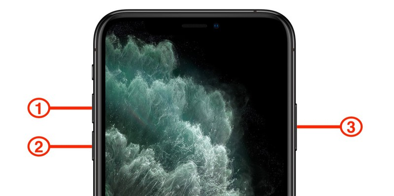 hard reset buttons iphone 11