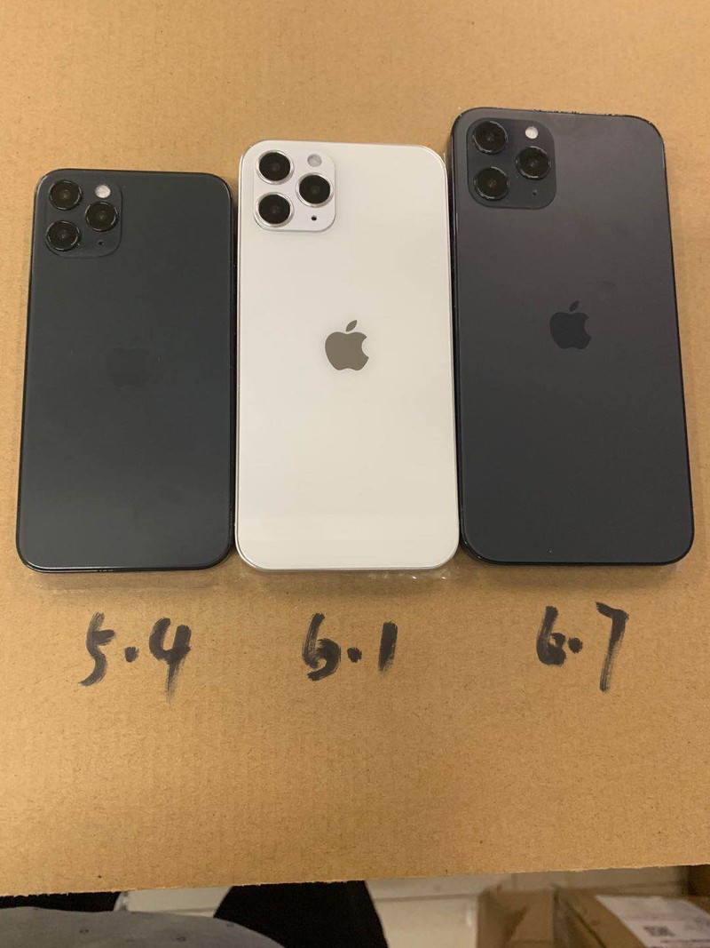 iPhone 12 Dummy Unit Images Feature iPad Pro-Style Design