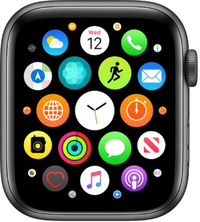 apple watch watchos apps home screen