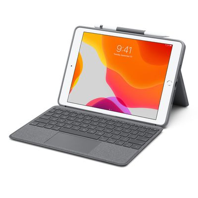 logitech combo touch ipad keyboard case