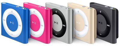 ipod shuffle 2015 lineup