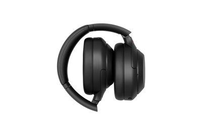 sony headphones folding