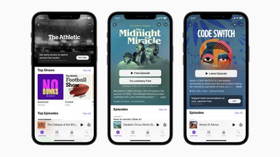 Podcasts de Apple iOS 14 5