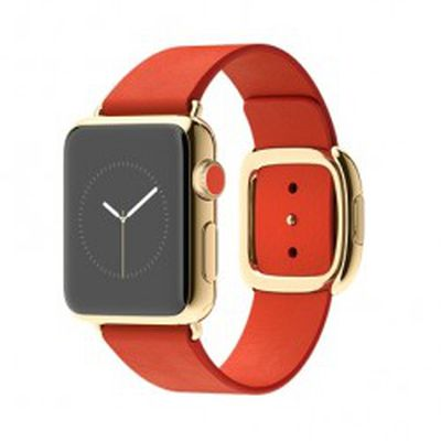 Apple Watch Edition Red