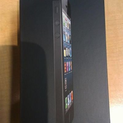 iphone 5 unbox