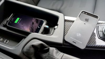 BMW powered by Aircharge Wireless Charging iPhone case