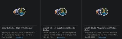 macoos combo updates