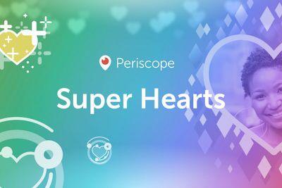 Periscope Super Hearts Banner