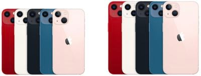 iphone 13 colors sizes