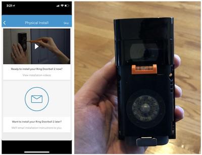 ring video doorbell 2 level