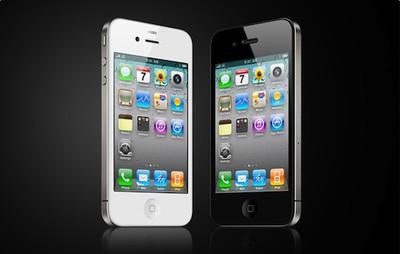 144925 iphone 4 white black