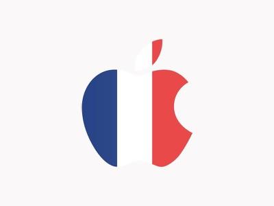 apple france logo