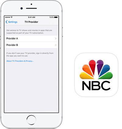nbc app single sign on