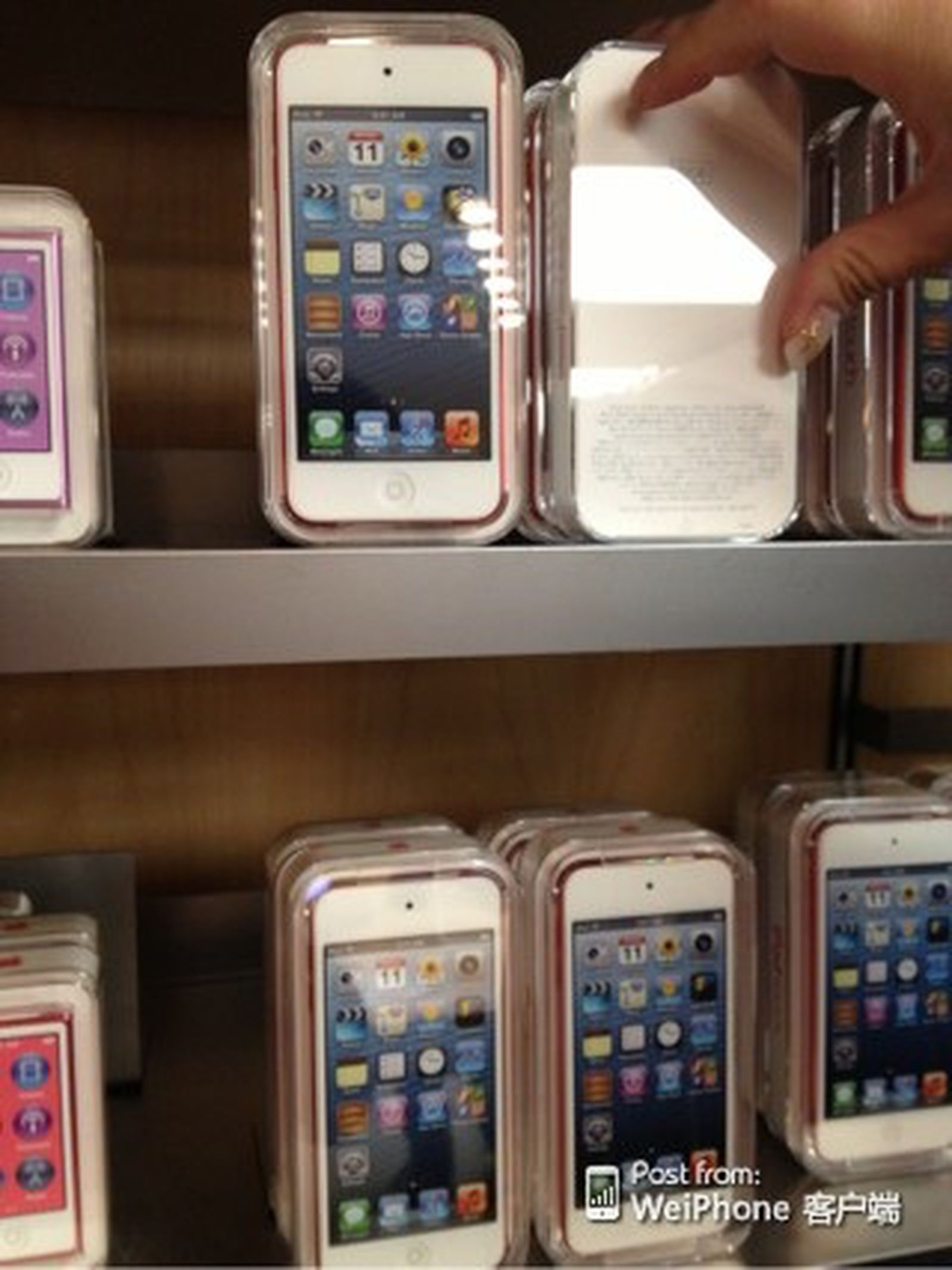 New Ipod Touch And Ipod Nano Begin Shipping Photos And Benchmarks Posted Macrumors