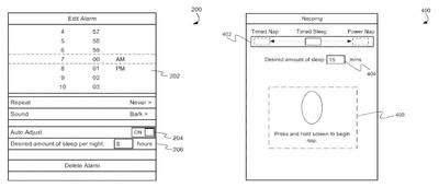 sleep tracking patent 2