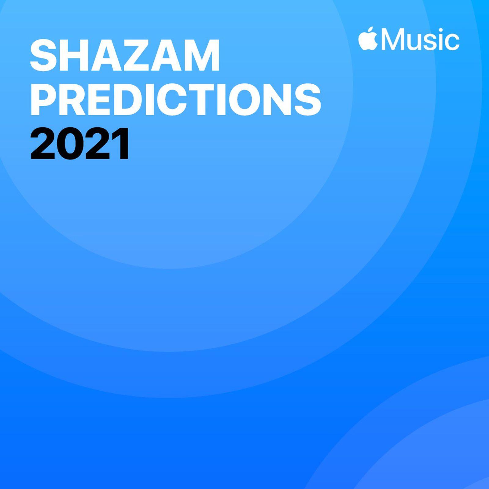 photo of Apple's Shazam Shares 2021 Popular Music Predictions image