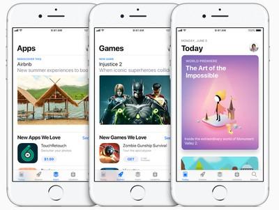 new app store ios 11