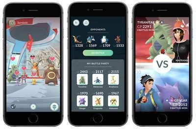 pokemon go gym update