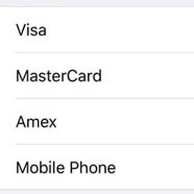 mobile carrier billing