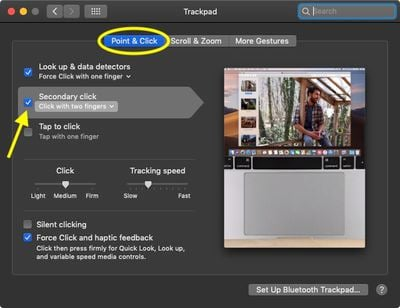 how to right click on mac 3