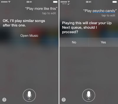 Apple Music and Siri 6